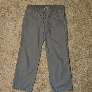 Loft elastic waist pants